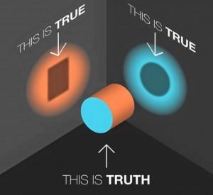 Каждый видит «свое», оба правы и оба не видят картину, как она есть